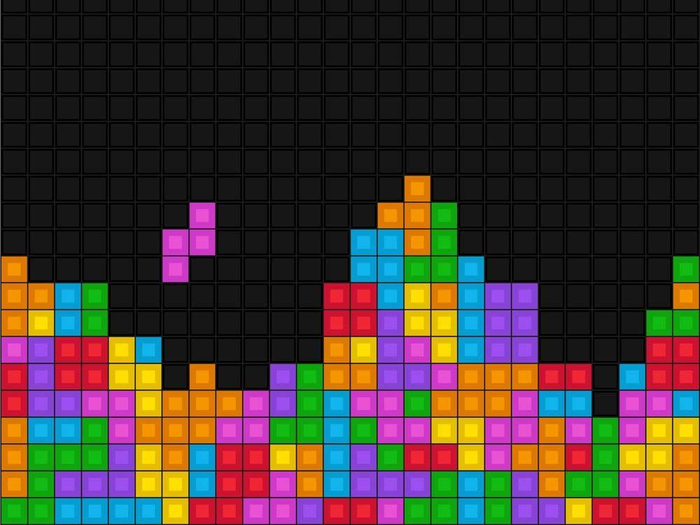 Tetris video game