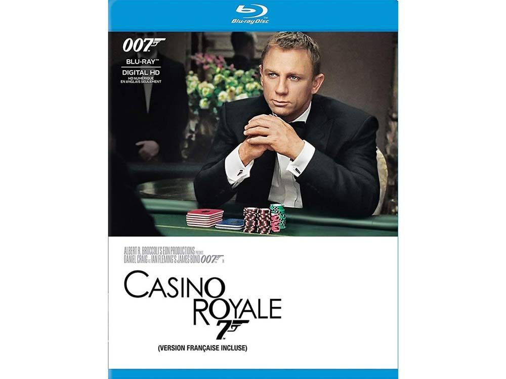 Casino Royale blu ray cover