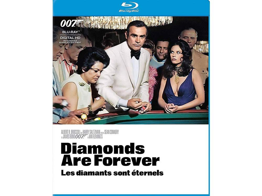 Diamonds Are Forever blu ray cover