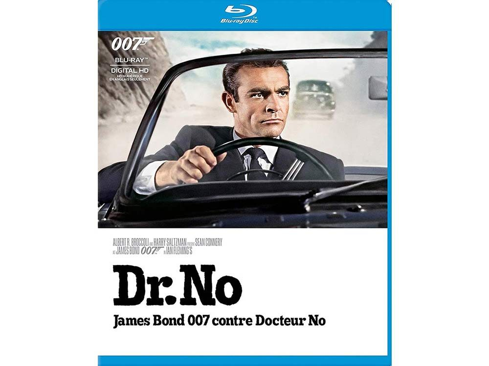 Dr. No blu ray cover