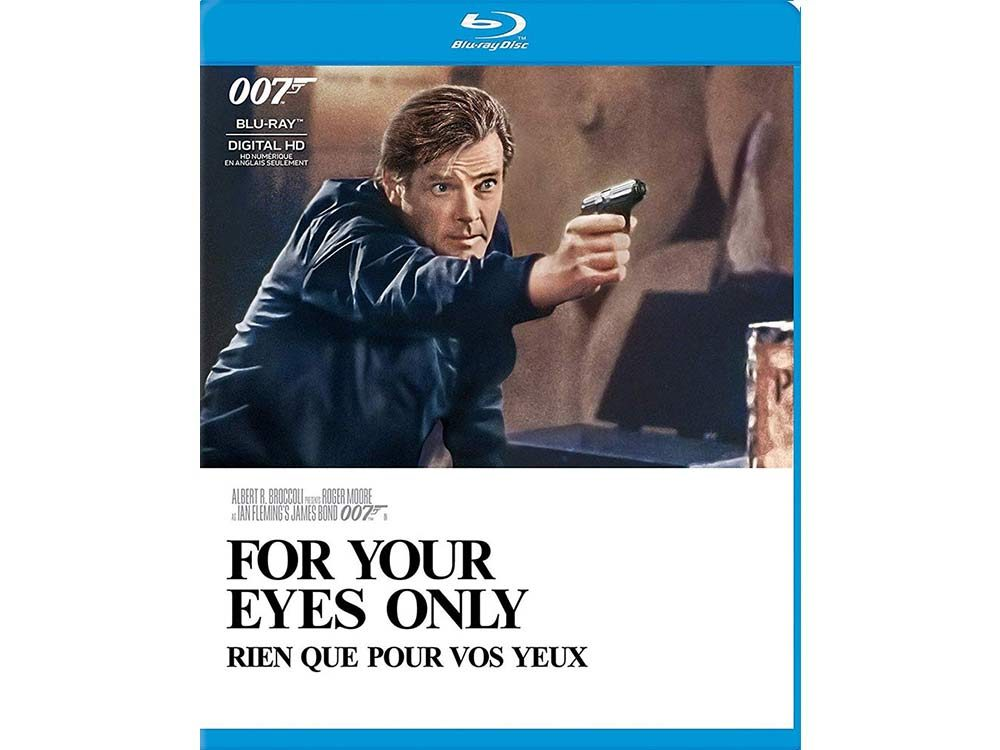 For Your Eyes Only blu ray cover