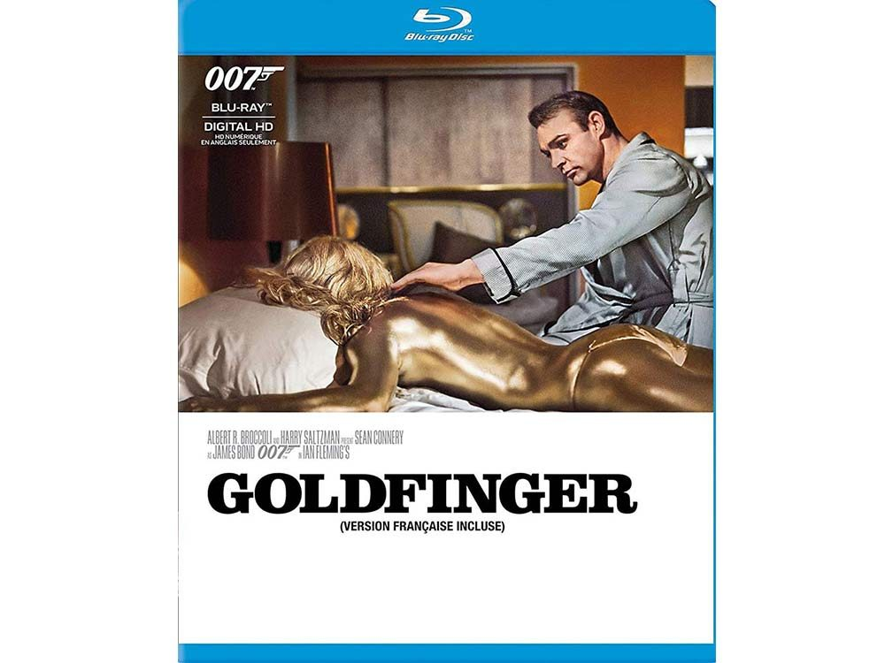Goldfinger blu ray cover
