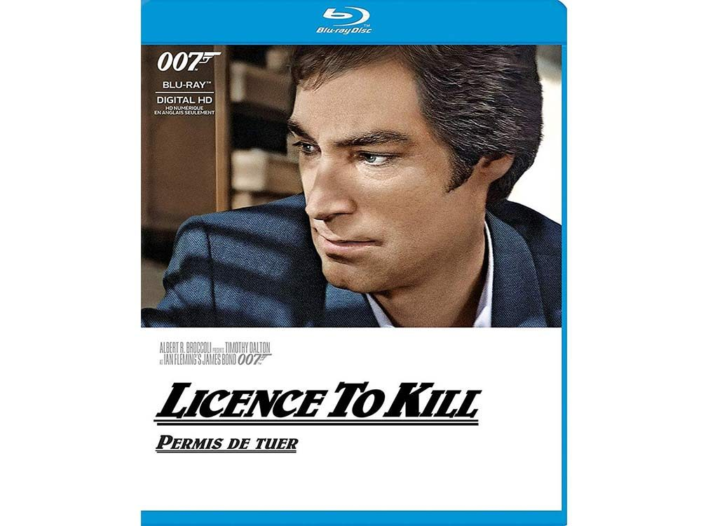Licence to Kill blu ray cover