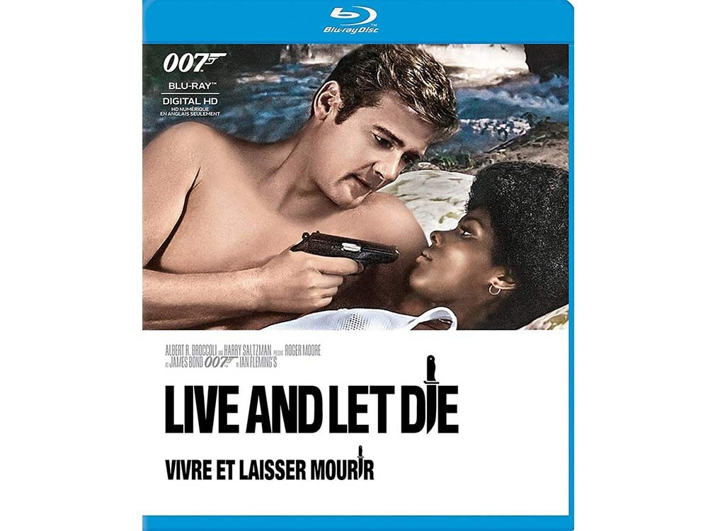 Live and Let Die blu ray cover