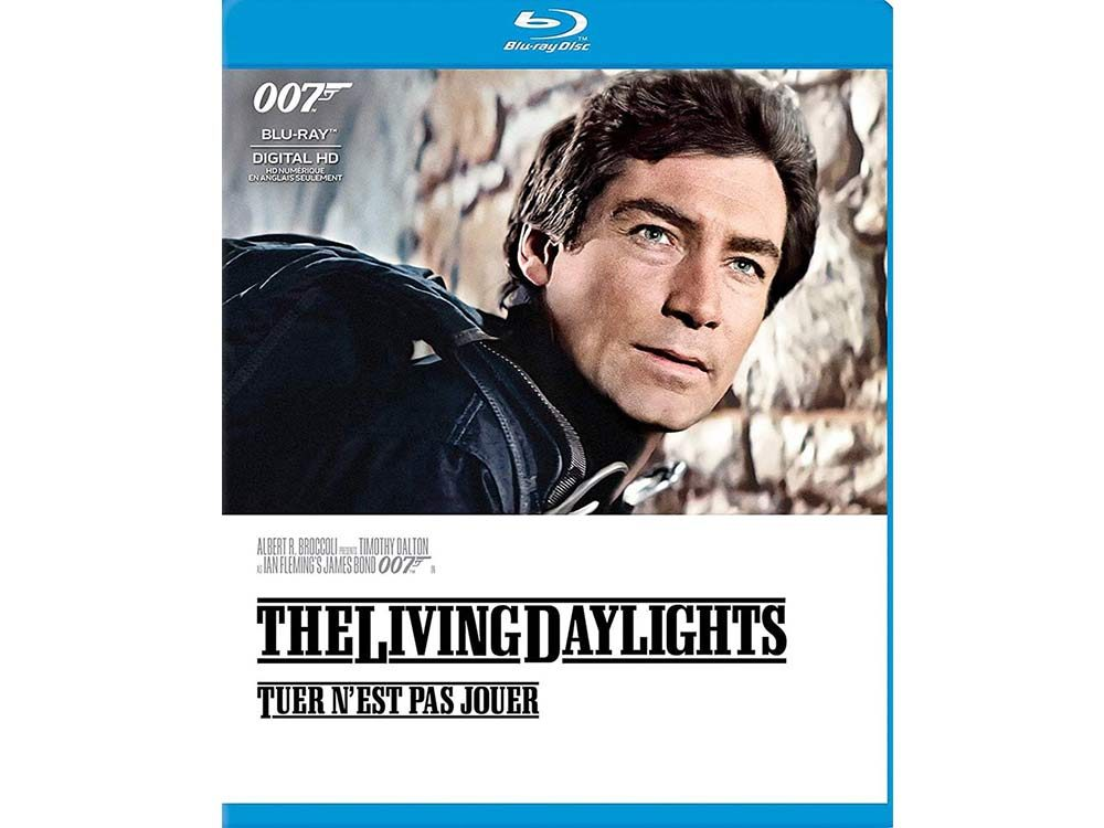 The Living Daylights blu ray cover