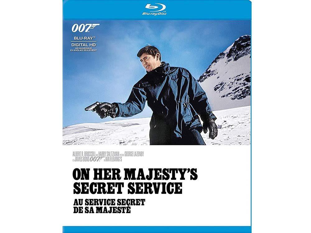 On Her Majesty's Secret Service blu ray cover