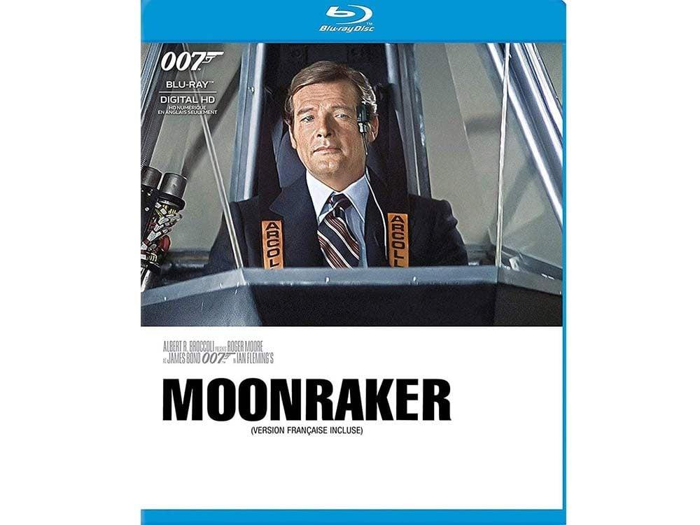 Moonraker blu ray cover