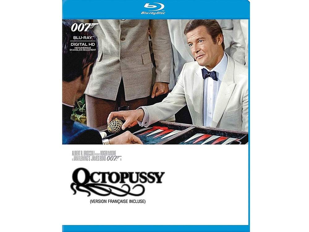 Octopussy blu ray cover