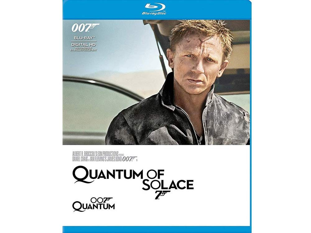 Quantum of Solace blu ray cover