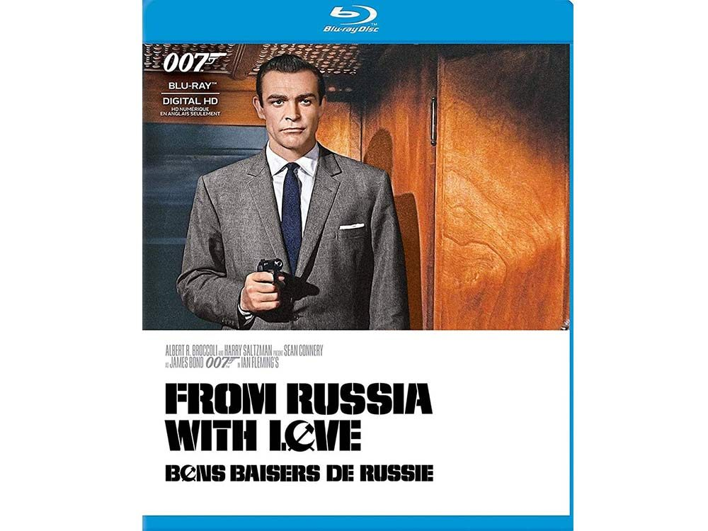 From Russia with Love blu ray cover