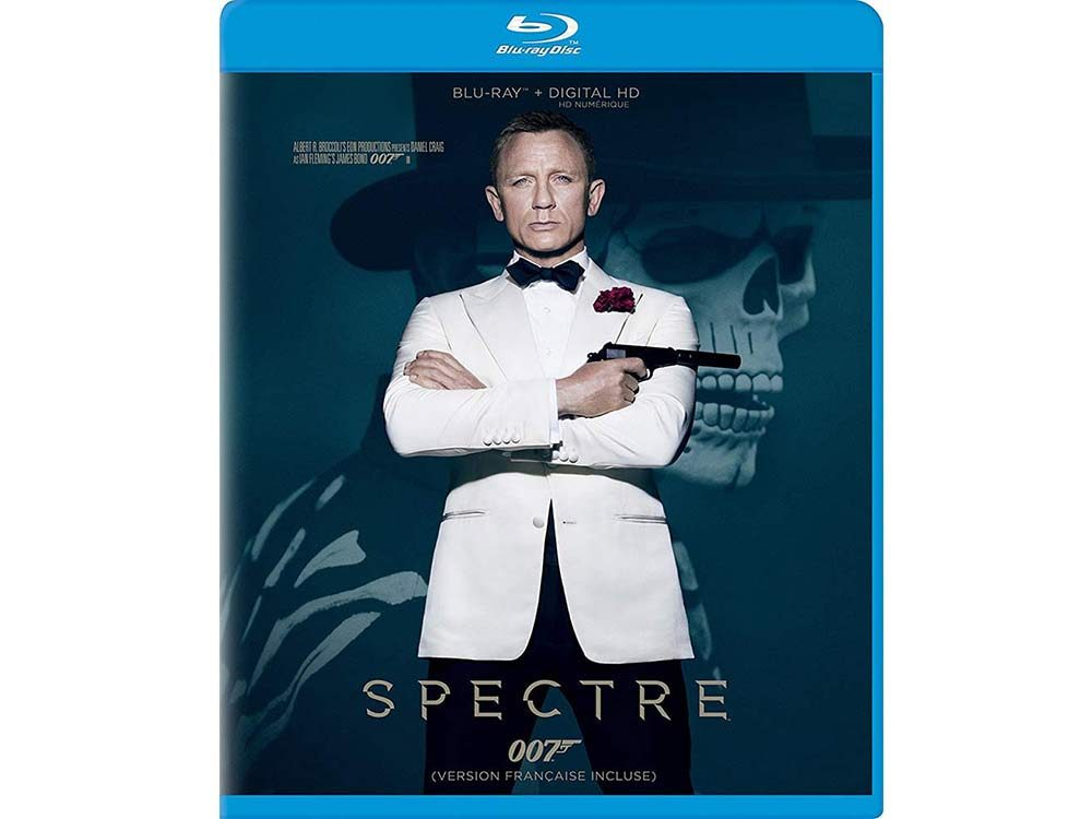 Spectre blu ray cover