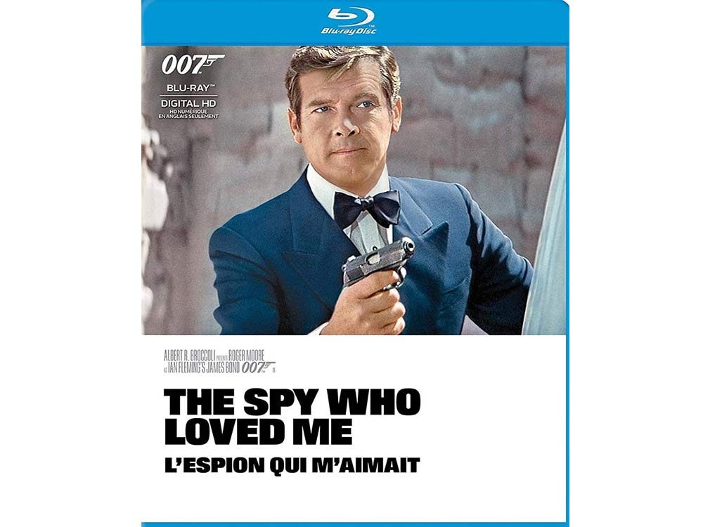 The Spy Who Loved Me blu ray cover