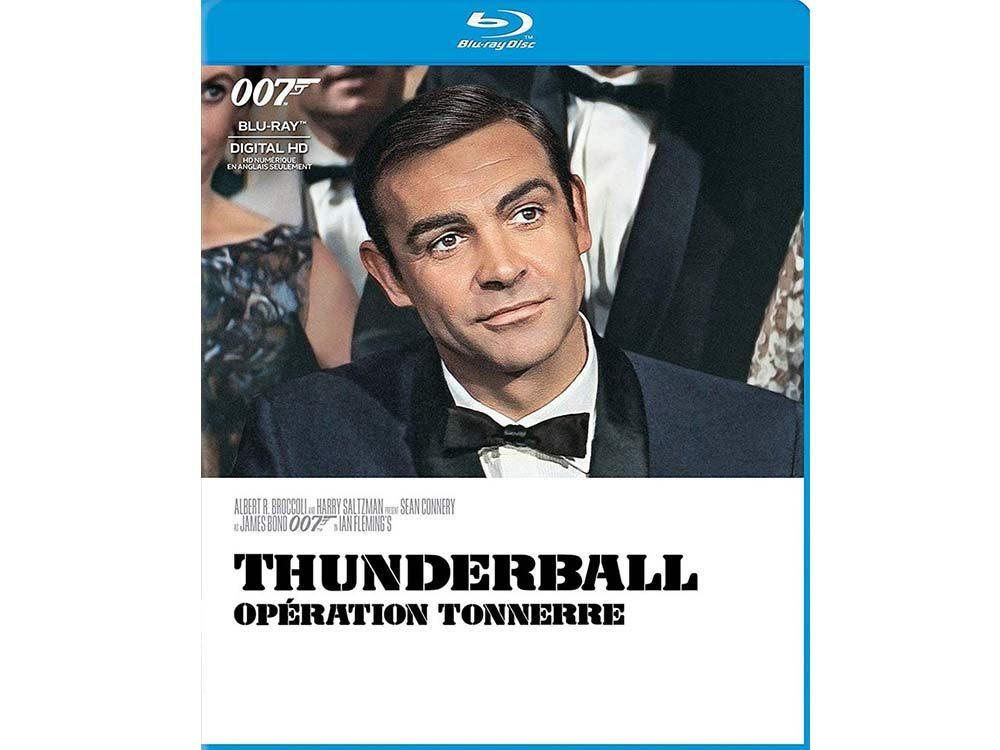 Thunderball blu ray cover