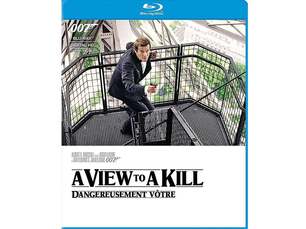 A View to a Kill blu ray cover