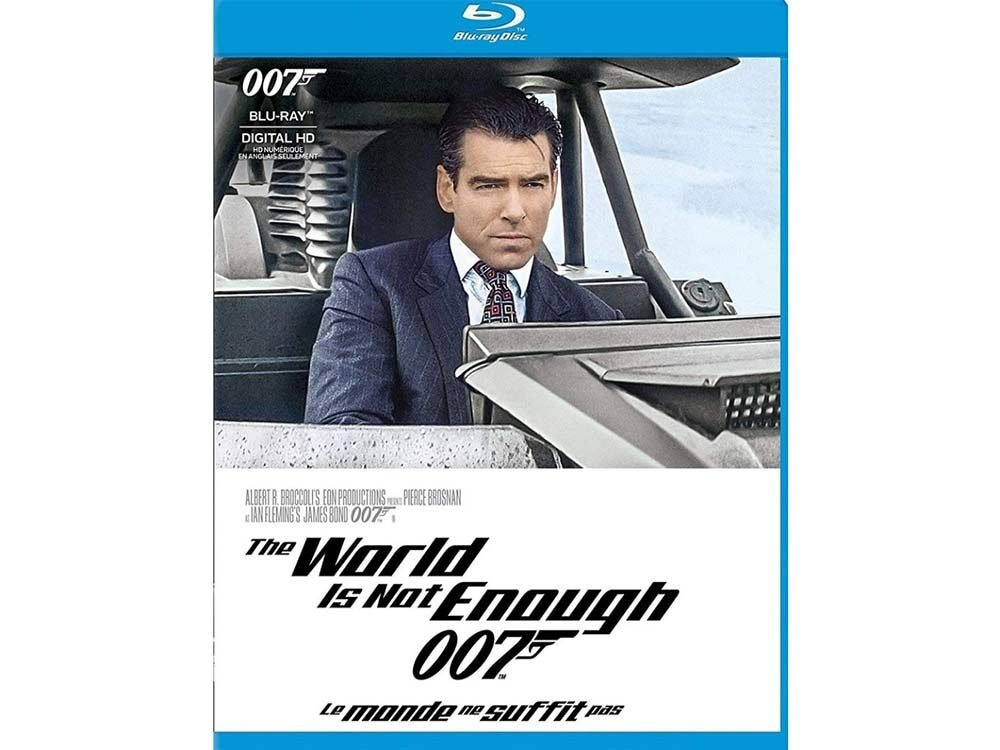 The World is Not Enough blu ray cover