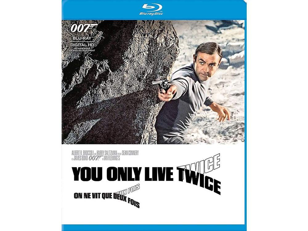 You Only Live Twice blu ray cover