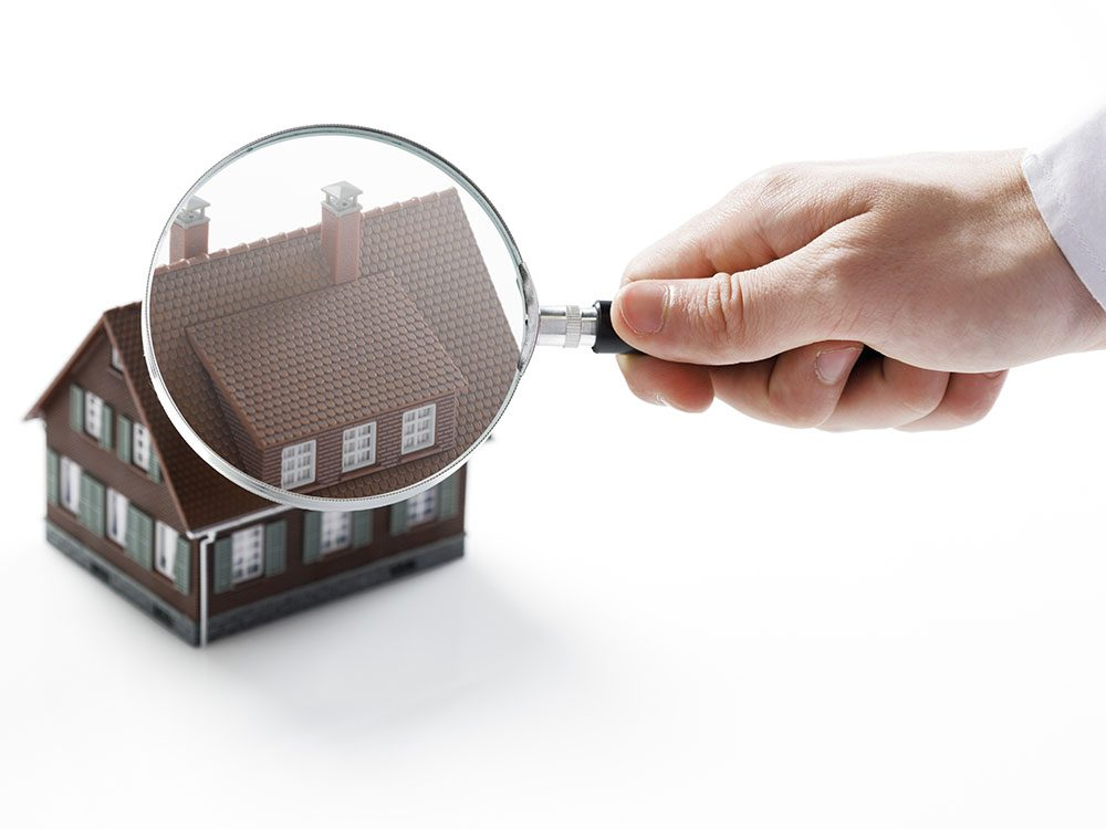 Schedule an annual home inspection
