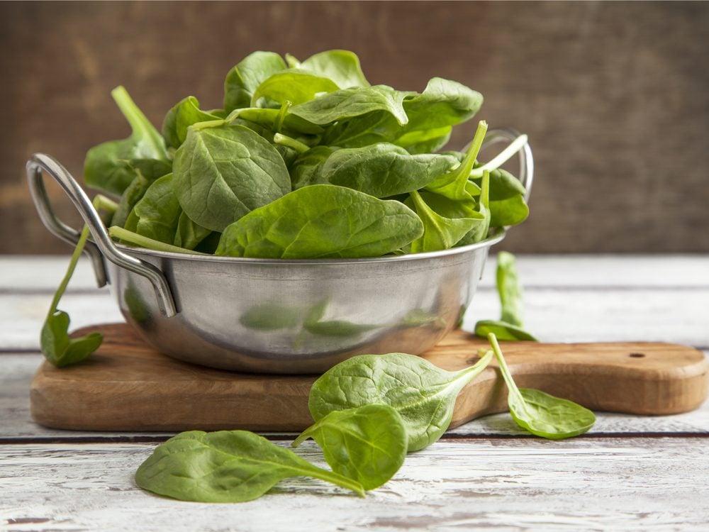 spinach-antioxidants
