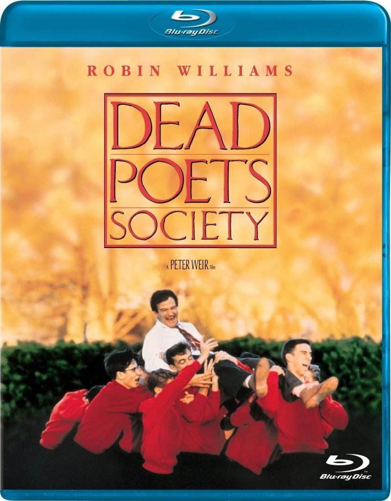 Dead Poets Society blu ray cover
