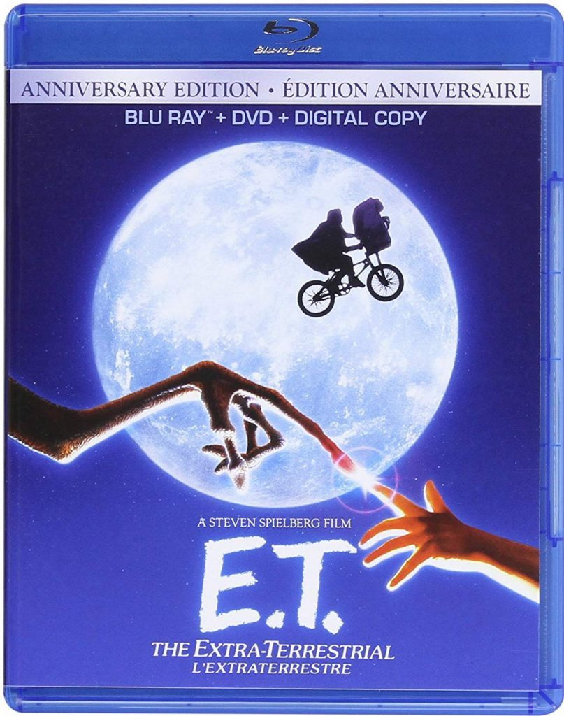 E.T. the Extra-Terrestrial blu ray cover