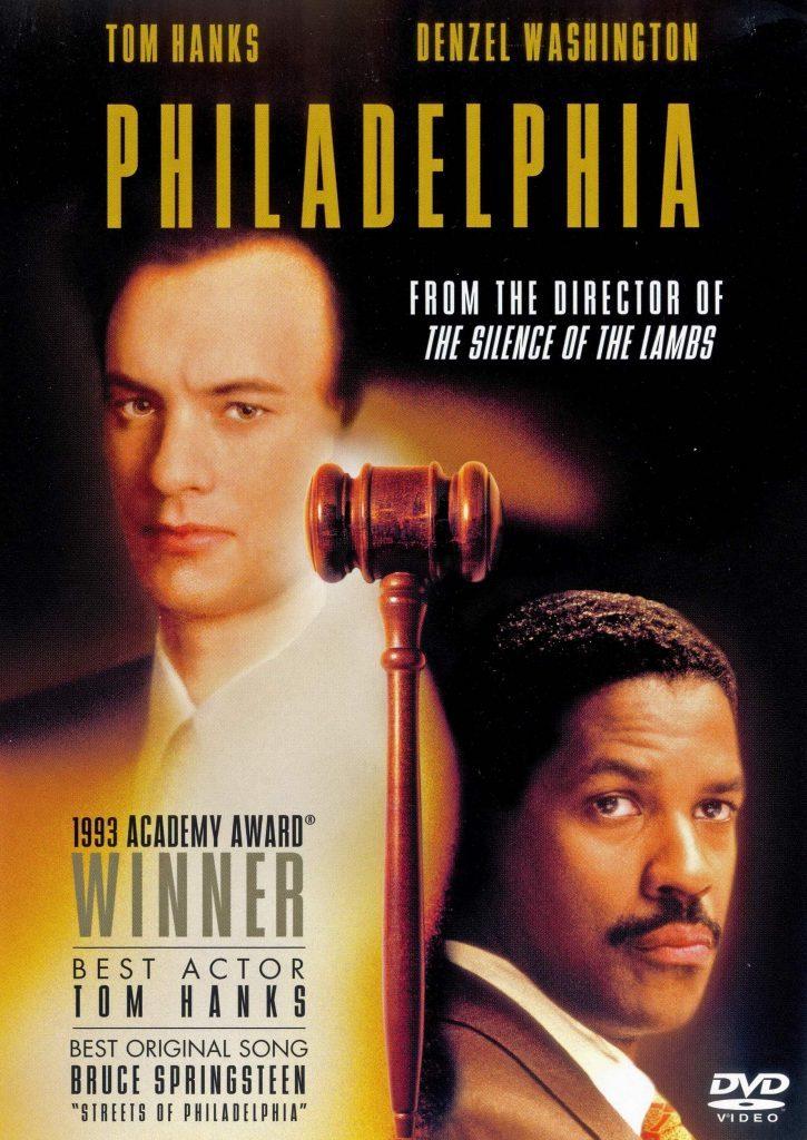 Philadelphia DVD cover