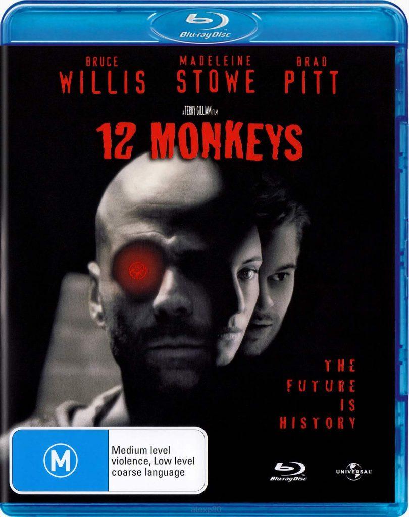 12 Monkeys blu ray cover