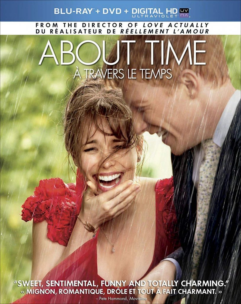 About Time blu ray cover