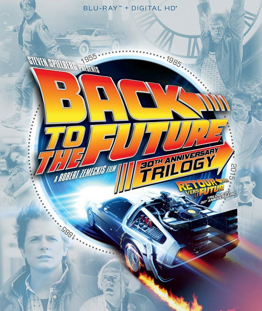Back to the Future Trilogy blu ray cover