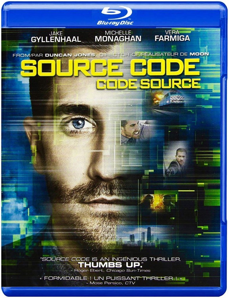 Source Code Blu ray cover