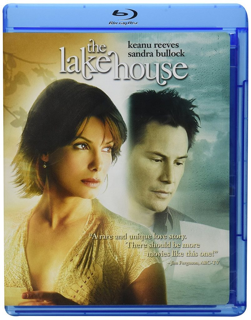 The Lake House Blu ray cover