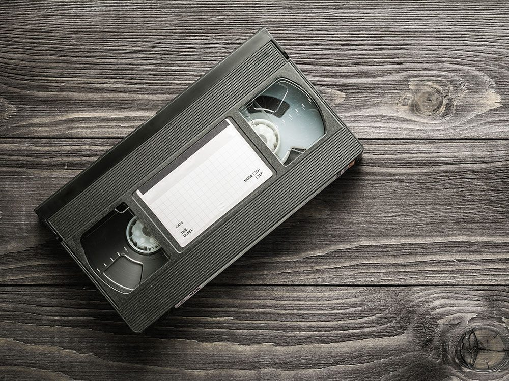 What to do with unwanted VHS video cassette tapes