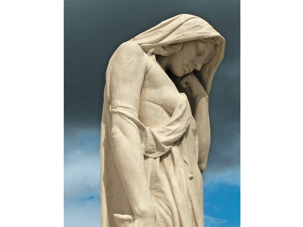 Mother Canada statue at Vimy Ridge