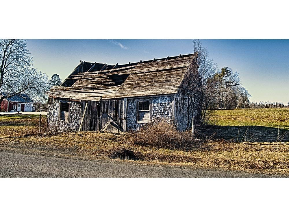 Old blacksmith forge in Nova Scotia