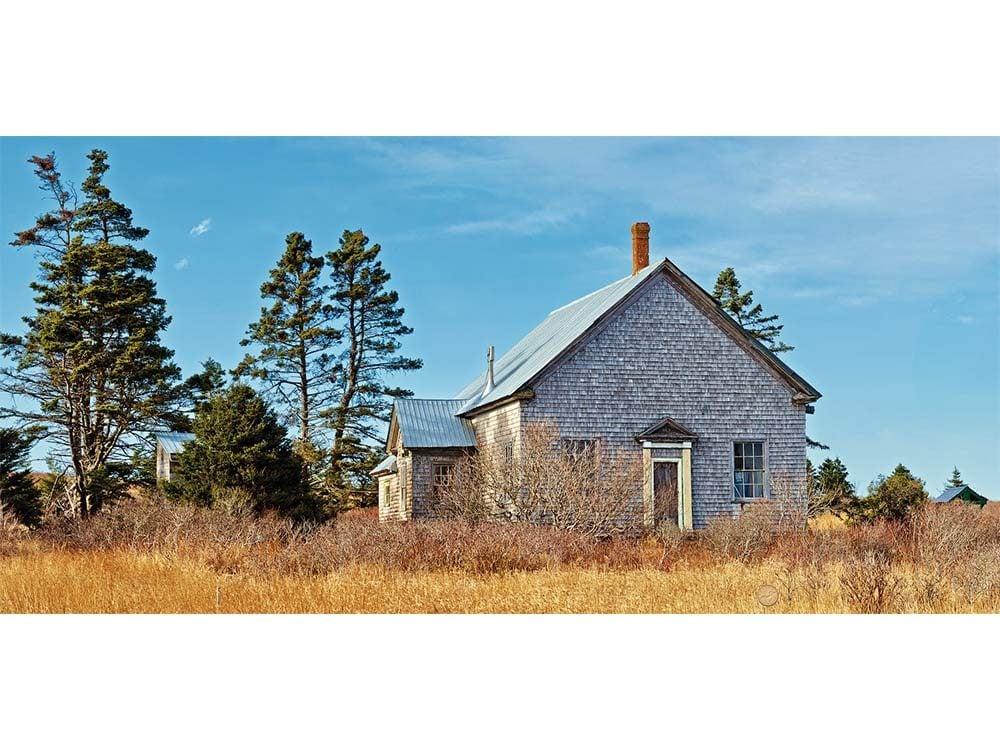Abandoned school in Nova Scotia