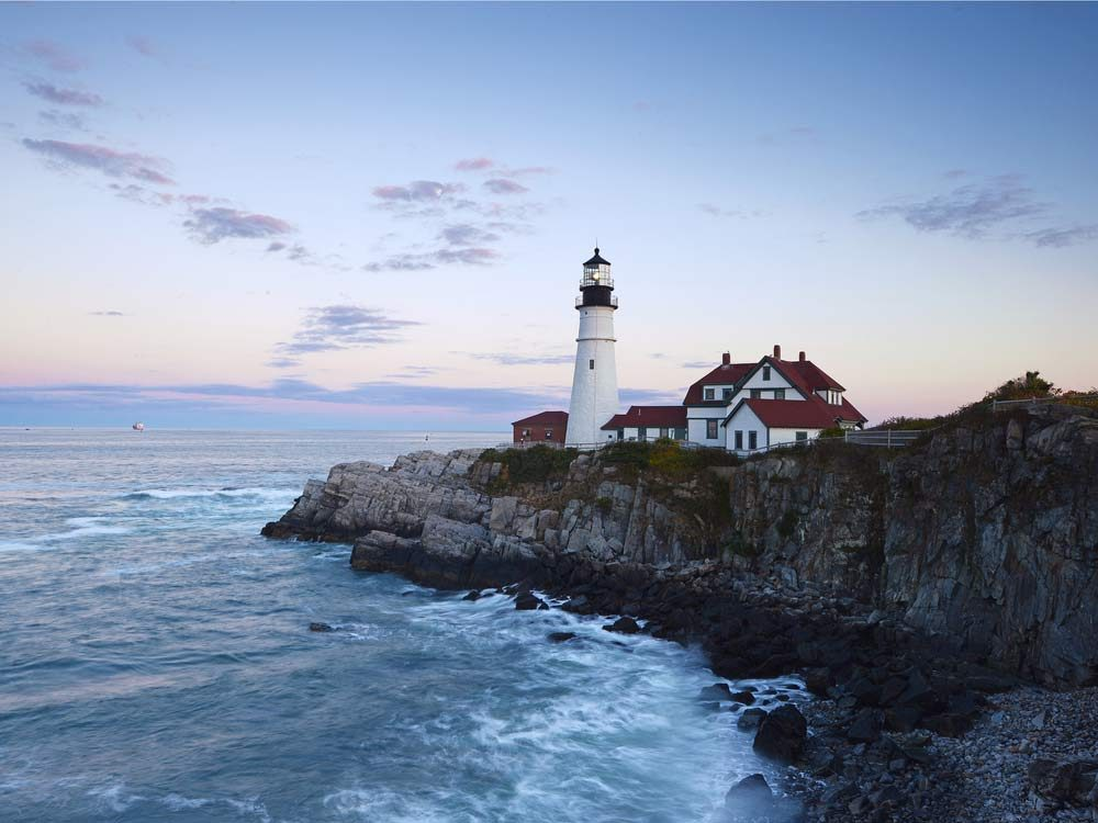 Portland coast
