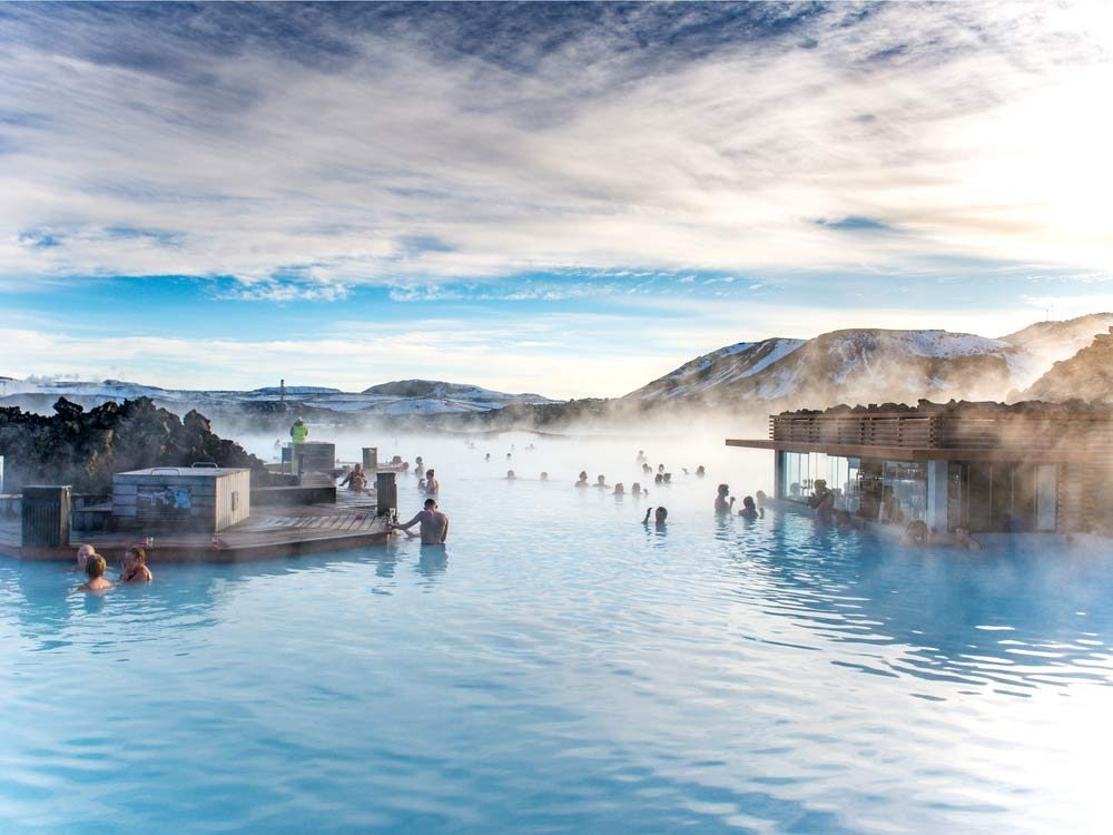 Iceland's Blue Lagoon is one of the world's most famous beauty destinations