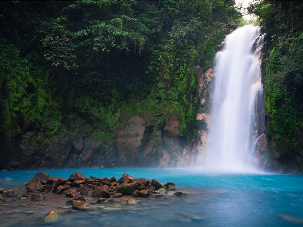 Volcanic Springs in the Northern Plains of Costa Rica