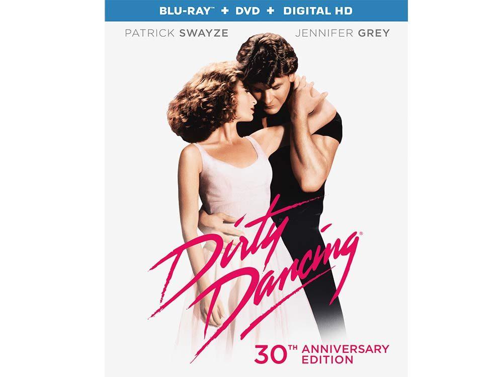 Dirty Dancing blu-ray cover