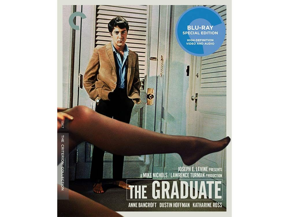 The Graduate blu-ray cover