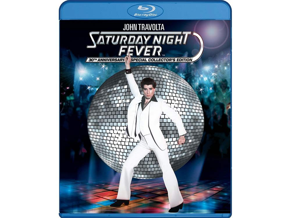 Saturday Night Fever blu-ray cover