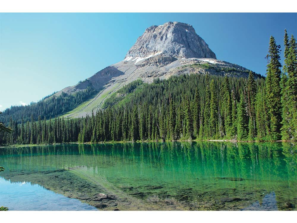 Wapta Mountain and Yoho Lake