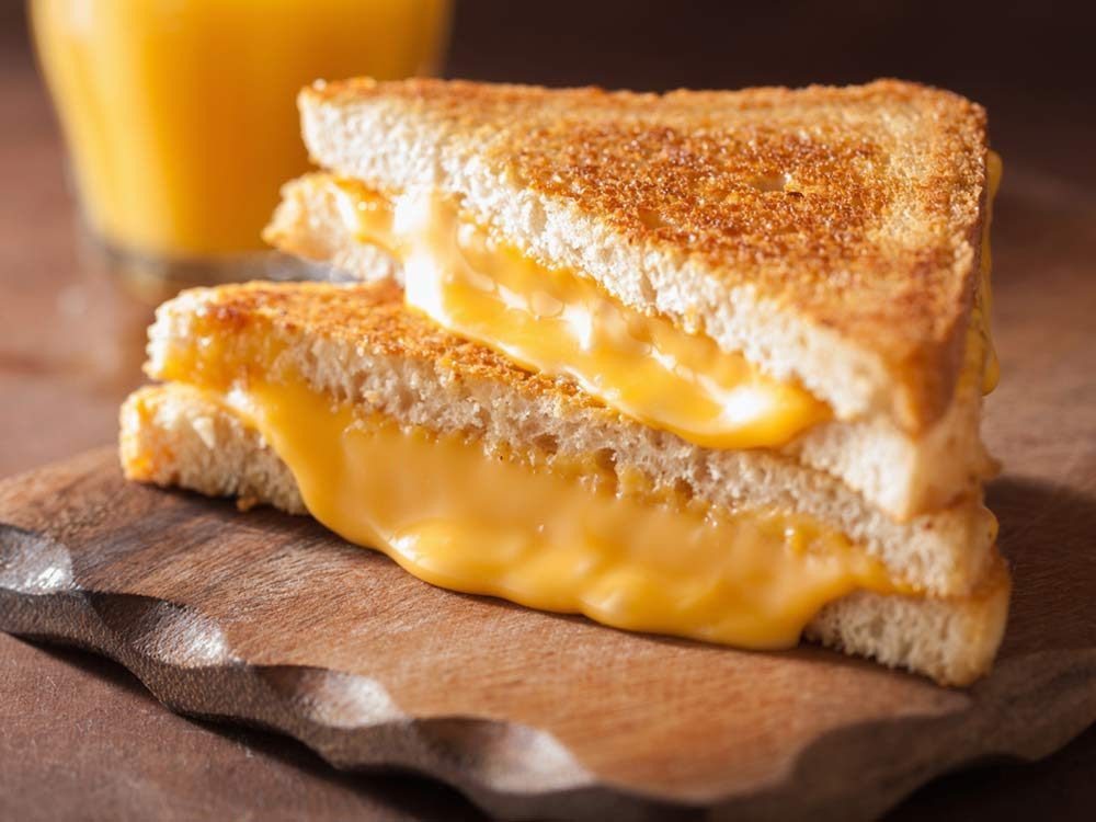 James Cunningham's grilled cheese tips