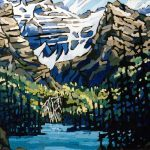 Mountains of Western Canada: The Impressionist Art of Jim Less