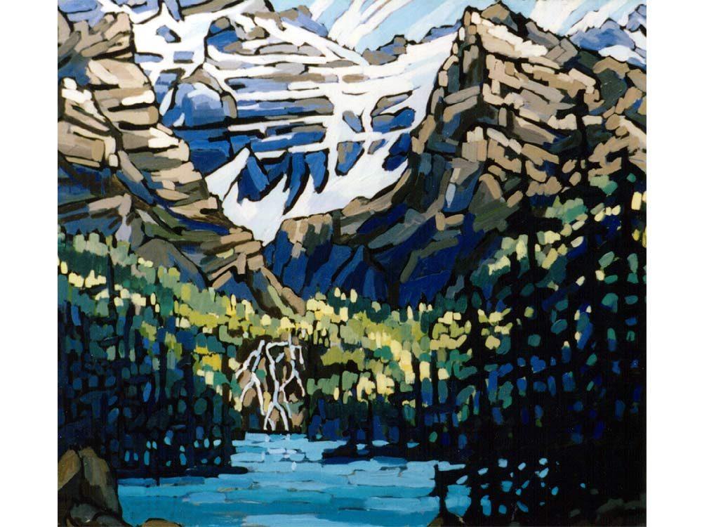 Cobalt Lake in Western Canada