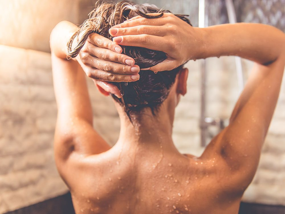 Long hot showers are bad for your skin
