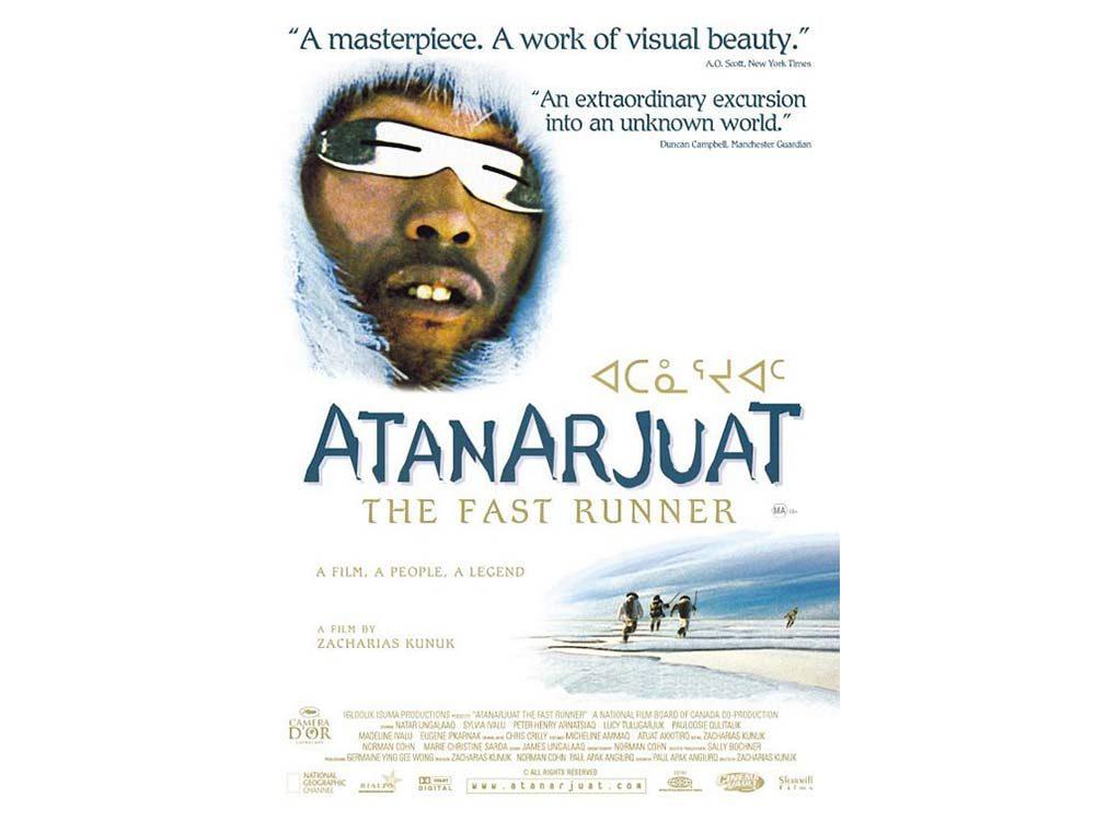 Atanarjuat: The Fast Runner blu-ray cover