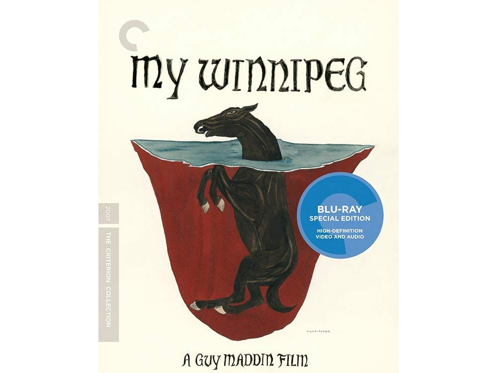 My Winnipeg blu-ray cover
