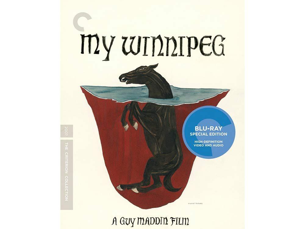 My Winnipeg blu-ray cover