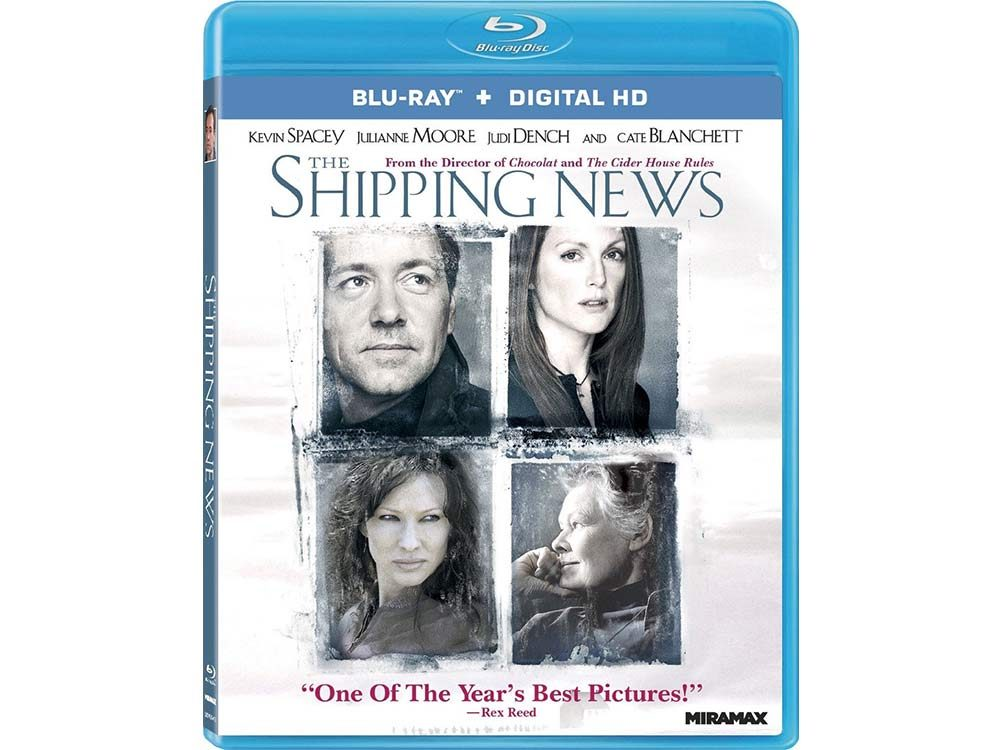 The Shipping News blu-ray cover