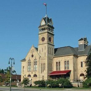 Petrolia Ontario - Victoria Hall in Petrolia, Ontario